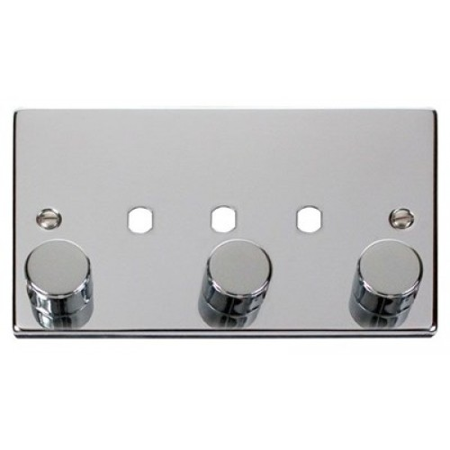 3 gang dimmer plate knobs. Black Bedroom Furniture Sets. Home Design Ideas