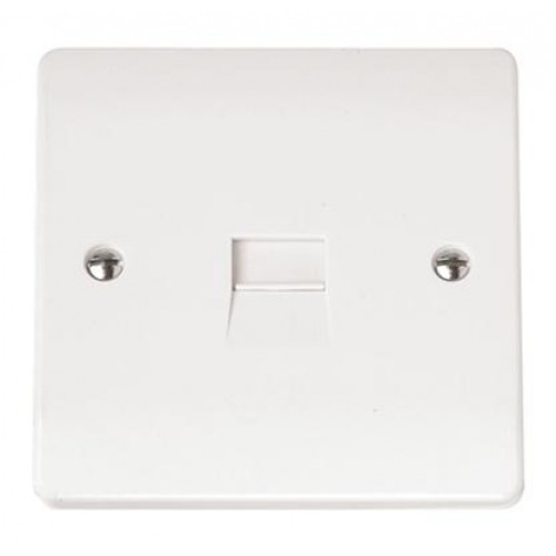 single telephone outlet secondary rh huddersfieldelectrical co uk Telephone Wiring Supplies Telephone Terminal Block Wiring